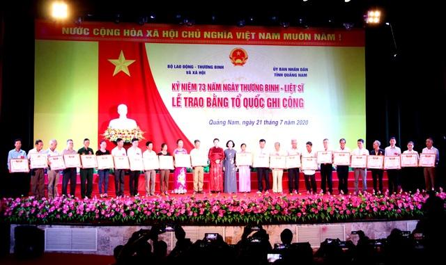 Truyền hình: Lễ trao 73 Bằng Tổ quốc ghi công tại Quảng Nam - 4