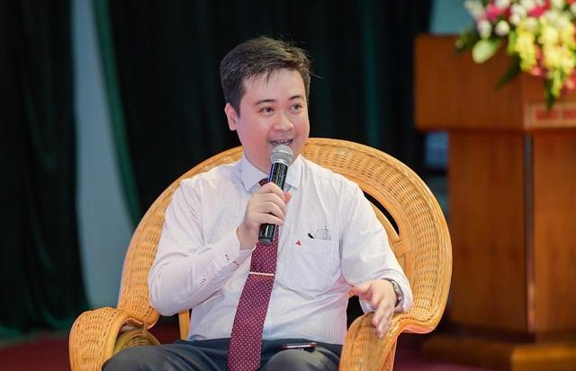 Phó Giáo sư Trần Minh Triết - Viện trưởng Viện John von Neumann cho biết Đại học Quốc gia TPHCM đã đào tạo khoa học dữ liệu từ năm 2004.
