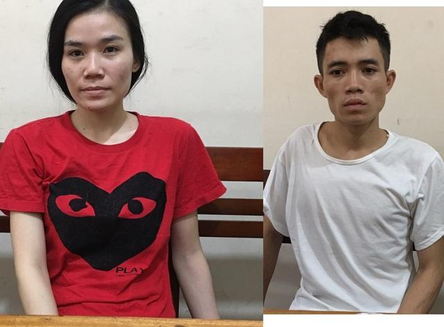 Phục kích bắt đôi nam nữ mang 1kg ma túy đá - 1