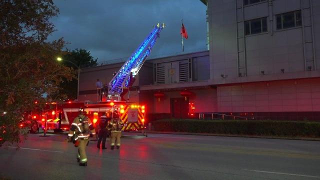 Cháy tại lãnh sự quán Trung Quốc ở Mỹ, nghi do đốt tài liệu mật - 2