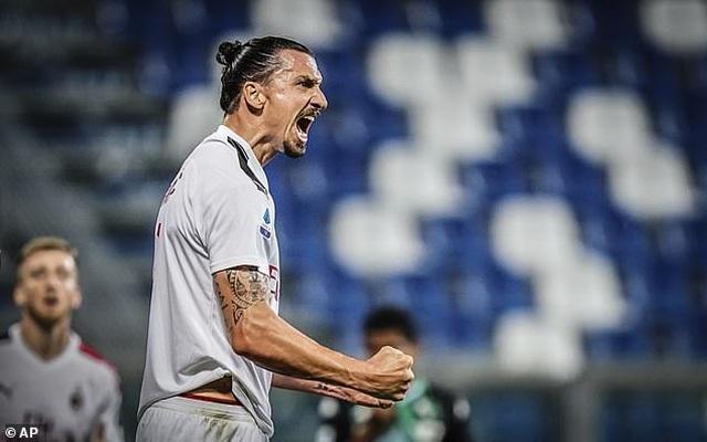 Ibrahimovic ghi 2 bàn, AC Milan lập kỷ lục sau 55 năm - 2