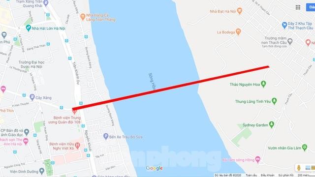 Cận cảnh nơi dự kiến xây dựng cầu Trần Hưng Đạo nối quận Long Biên - Hoàn Kiếm - 7