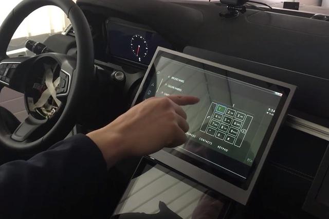 Trải nghiệm màn điều khiển cảm ứng không chạm của Jaguar Land Rover - 3