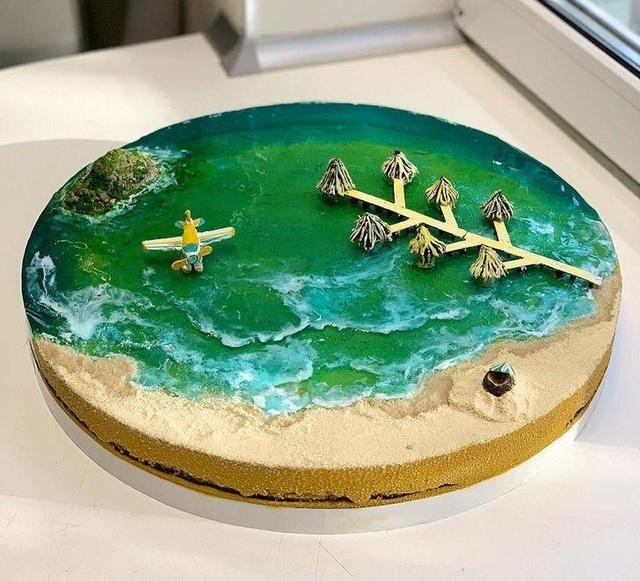 Những chiếc bánh thạch hệt như những hòn đảo thiên đường - 5