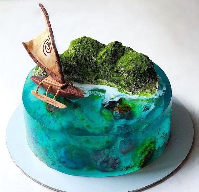 Những chiếc bánh thạch hệt như những hòn đảo thiên đường - 7