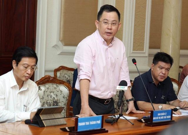 TPHCM xin phép Thủ tướng việc sử dụng tiền đấu giá 61 lô đất ở Thủ Thiêm - 1