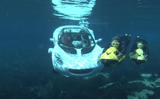 Rinspeed sQuba - Siêu phẩm ô tô lai tàu ngầm duy nhất trên thế giới - 6