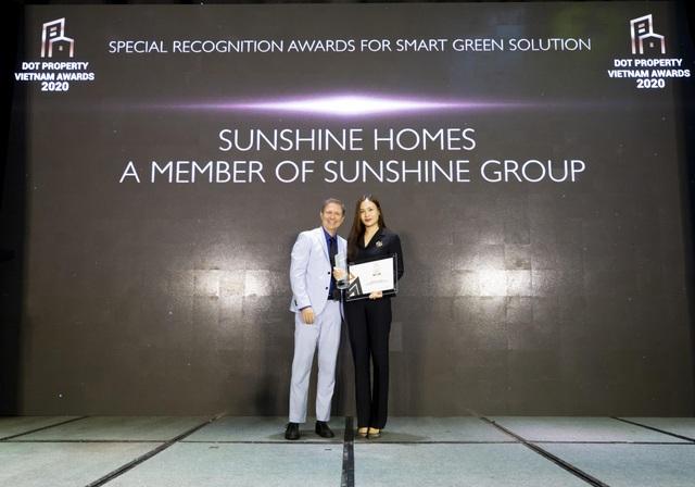 Sunshine Homes chiến thắng vang dội tại Dot Property Vietnam Awards 2020 - 1