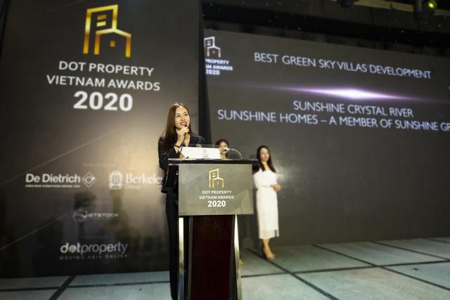 Sunshine Homes chiến thắng vang dội tại Dot Property Vietnam Awards 2020 - 3