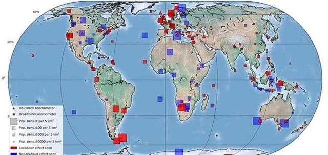 Rung chấn trên Trái Đất giảm một nửa do... đại dịch Covid-19 - 2