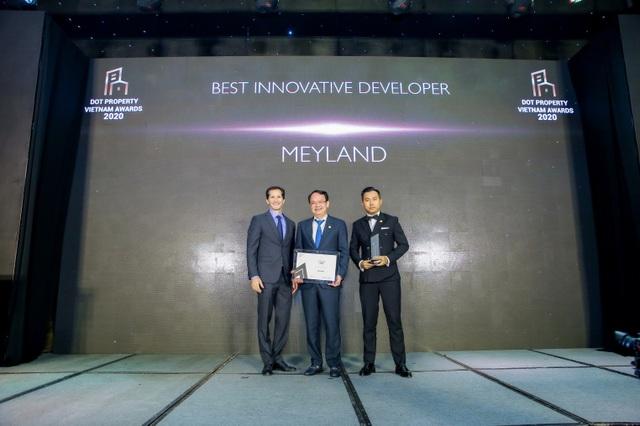 Meyland giành chiến thắng kép tại Dot Property Vietnam Awards 2020 - 1