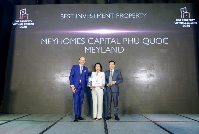 Meyland giành chiến thắng kép tại Dot Property Vietnam Awards 2020 - 2