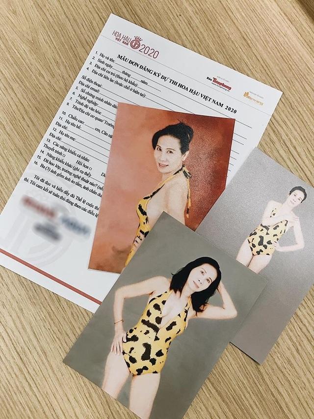 Ngỡ ngàng thí sinh U60 đăng kí thi Hoa hậu Việt Nam 2020 - 1