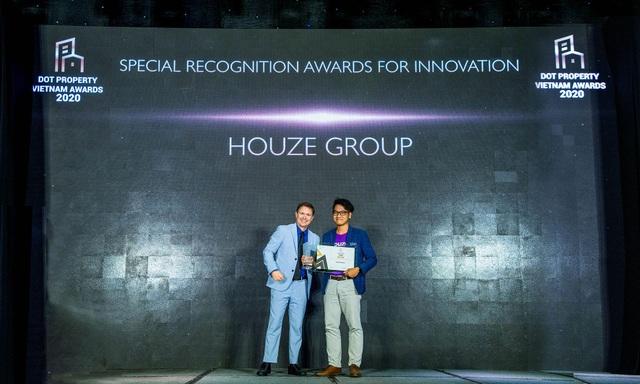 Houze Group nhận giải thưởng đổi mới sáng tạo 2020 trong lĩnh vực bất động sản - 1