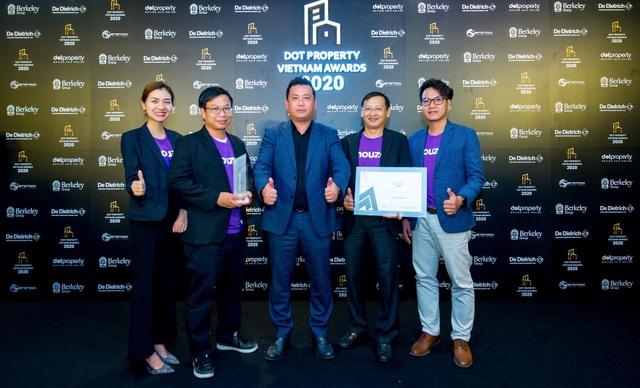 Houze Group nhận giải thưởng đổi mới sáng tạo 2020 trong lĩnh vực bất động sản - 2