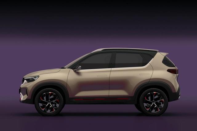 Hình ảnh chính thức đầu tiên về mẫu SUV cỡ nhỏ mới của Kia - 9
