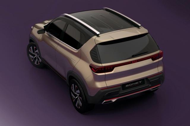Hình ảnh chính thức đầu tiên về mẫu SUV cỡ nhỏ mới của Kia - 7