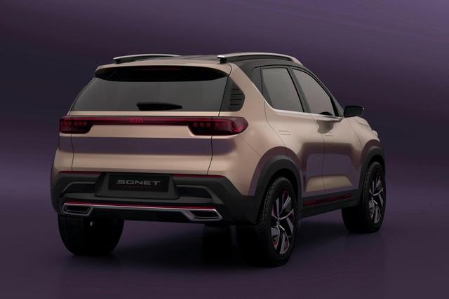 Hình ảnh chính thức đầu tiên về mẫu SUV cỡ nhỏ mới của Kia - 8