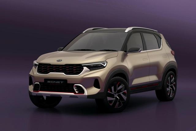 Hình ảnh chính thức đầu tiên về mẫu SUV cỡ nhỏ mới của Kia - 10