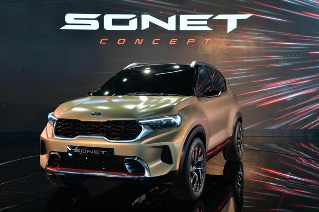 Hình ảnh chính thức đầu tiên về mẫu SUV cỡ nhỏ mới của Kia - 3