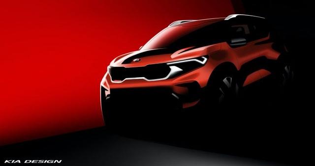 Hình ảnh chính thức đầu tiên về mẫu SUV cỡ nhỏ mới của Kia - 1