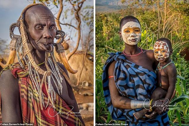 Những bức ảnh đáng kinh ngạc về các bộ tộc vùng sâu ở châu Phi - 1
