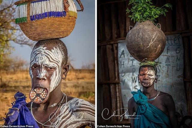 Những bức ảnh đáng kinh ngạc về các bộ tộc vùng sâu ở châu Phi - 3