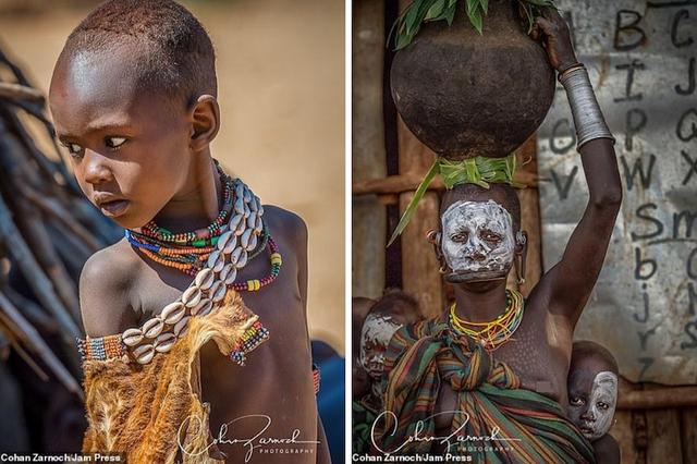 Những bức ảnh đáng kinh ngạc về các bộ tộc vùng sâu ở châu Phi - 4