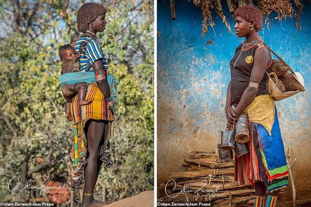 Những bức ảnh đáng kinh ngạc về các bộ tộc vùng sâu ở châu Phi - 5