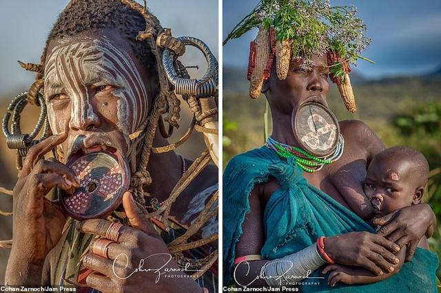 Những bức ảnh đáng kinh ngạc về các bộ tộc vùng sâu ở châu Phi - 6