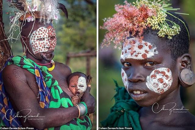 Những bức ảnh đáng kinh ngạc về các bộ tộc vùng sâu ở châu Phi - 9