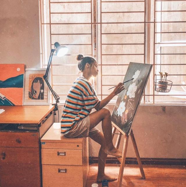 Bộ tranh minh họa truyện Kiều của nữ sinh Hà Tĩnh gây sốt - 1