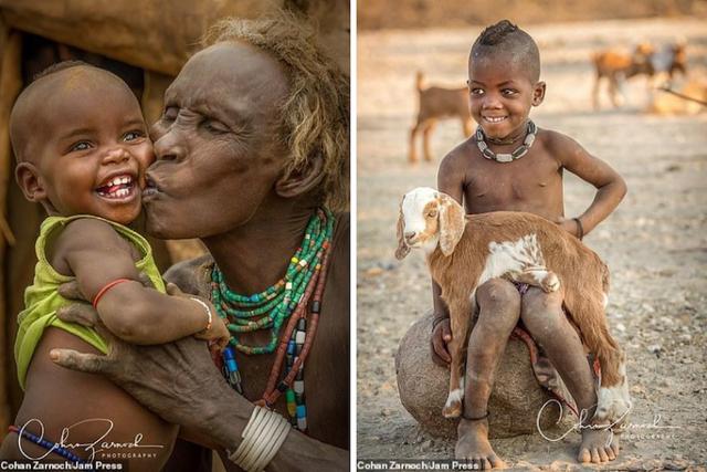 Những bức ảnh đáng kinh ngạc về các bộ tộc vùng sâu ở châu Phi - 11