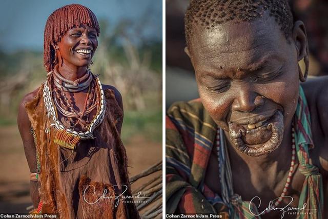 Những bức ảnh đáng kinh ngạc về các bộ tộc vùng sâu ở châu Phi - 12