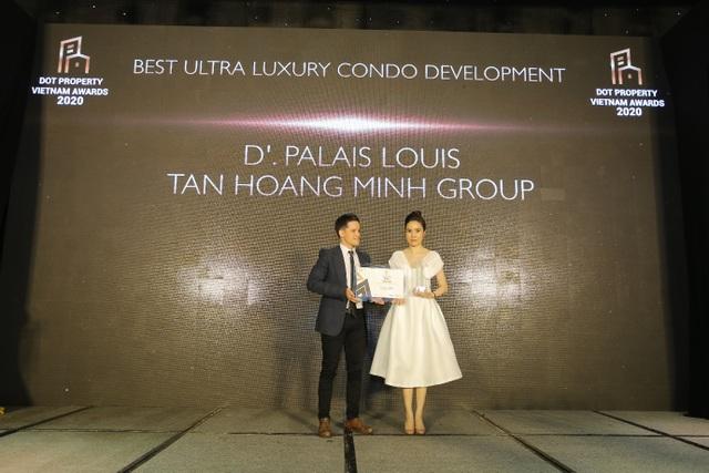 Tân Hoàng Minh lập cú hattrick giải thưởng lớn tại Dot Property Vietnam Awards 2020 - 2