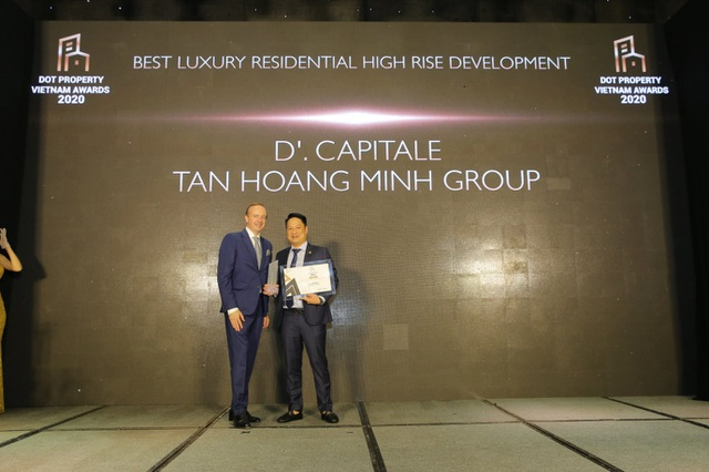 Tân Hoàng Minh lập cú hattrick giải thưởng lớn tại Dot Property Vietnam Awards 2020 - 4