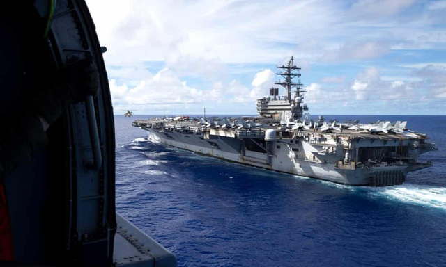 Tàu chiến Australia chạm trán Hải quân Trung Quốc ở Biển Đông - 1