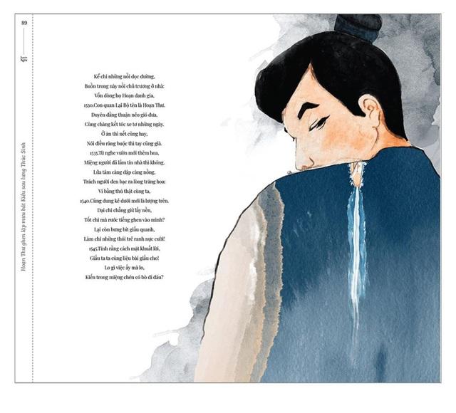 Bộ tranh minh họa truyện Kiều của nữ sinh Hà Tĩnh gây sốt - 10