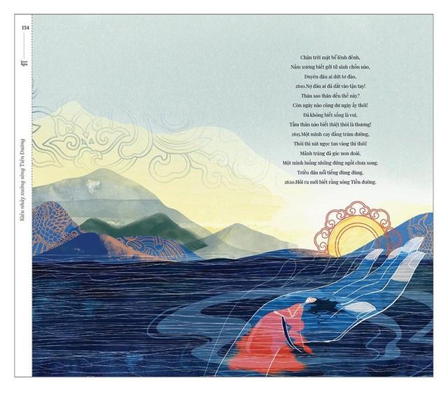 Bộ tranh minh họa truyện Kiều của nữ sinh Hà Tĩnh gây sốt - 12