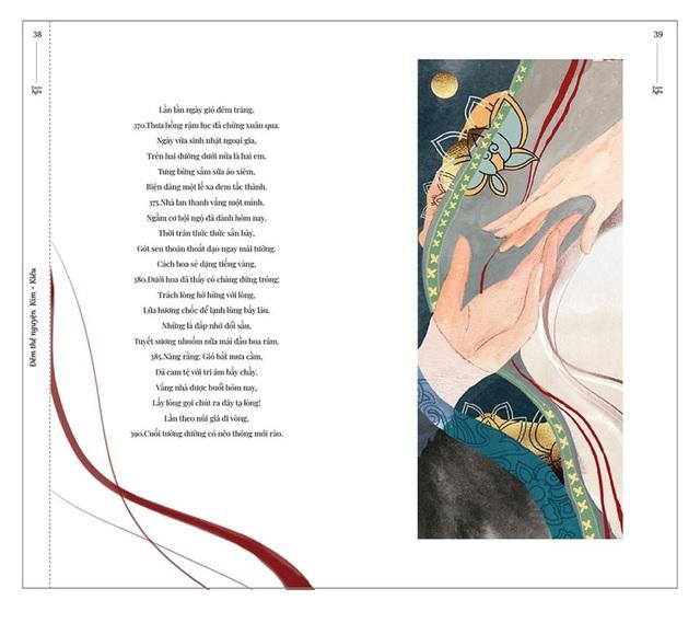 Bộ tranh minh họa truyện Kiều của nữ sinh Hà Tĩnh gây sốt - 6
