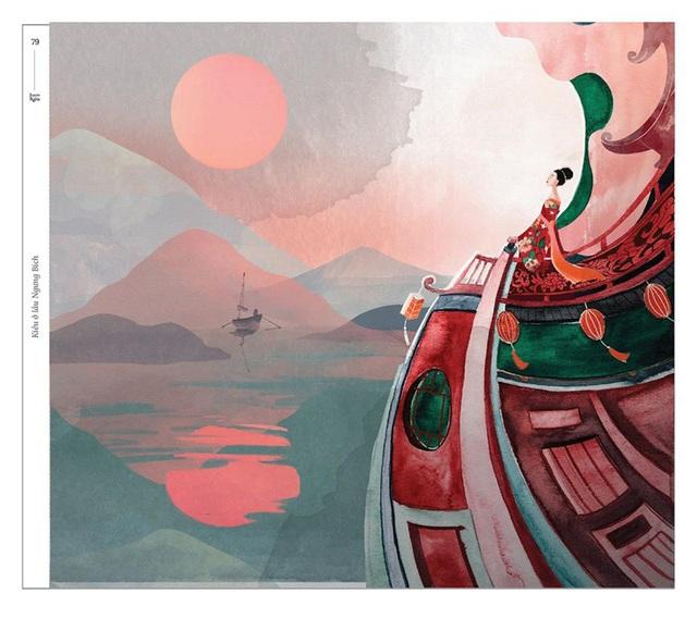 Bộ tranh minh họa truyện Kiều của nữ sinh Hà Tĩnh gây sốt - 9