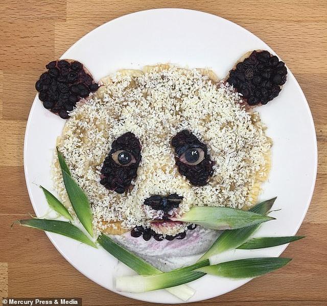 """Người mẹ gây sốt mạng vì những bữa sáng """"đầy nghệ thuật"""" cho con - 4"""