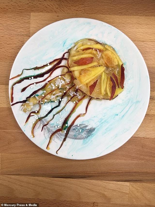 """Người mẹ gây sốt mạng vì những bữa sáng """"đầy nghệ thuật"""" cho con - 6"""
