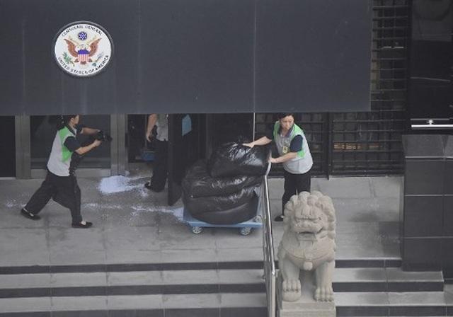 Mỹ tháo phù hiệu, gấp rút chuẩn bị rời khỏi lãnh sự quán ở Thành Đô - 3