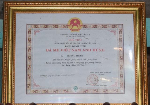 Mẹ Việt Nam Anh hùng suốt nửa thế kỷ mỏi mòn ngóng tin con - 5