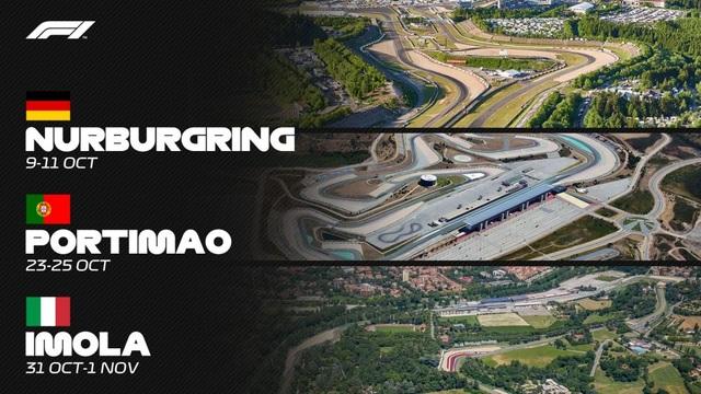 Cập nhật lịch thi đấu F1 2020: Đã chốt 13 chặng - 2