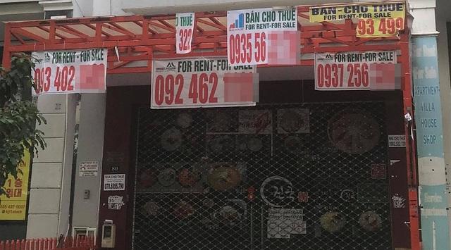 TPHCM: Đỏ mắt tìm người thuê mặt bằng ở khu phố người Hàn - 8