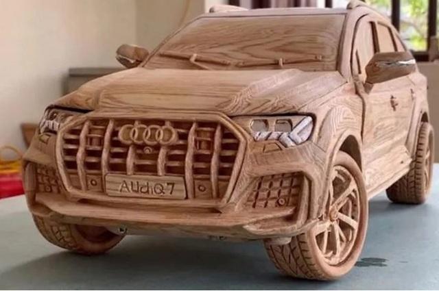 Loạt ô tô mô hình bằng gỗ của thợ Việt sốt trên báo ngoại - 1