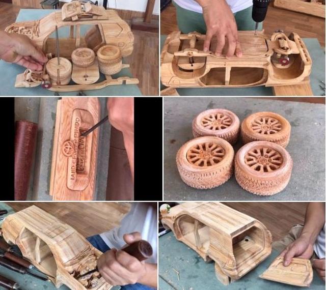 Loạt ô tô mô hình bằng gỗ của thợ Việt sốt trên báo ngoại - 2