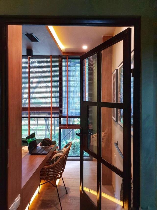 """""""Sống ảo"""" cả ngày trong nhà 28m2 thiết kế nội thất chất lừ, ngập cây xanh - 8"""